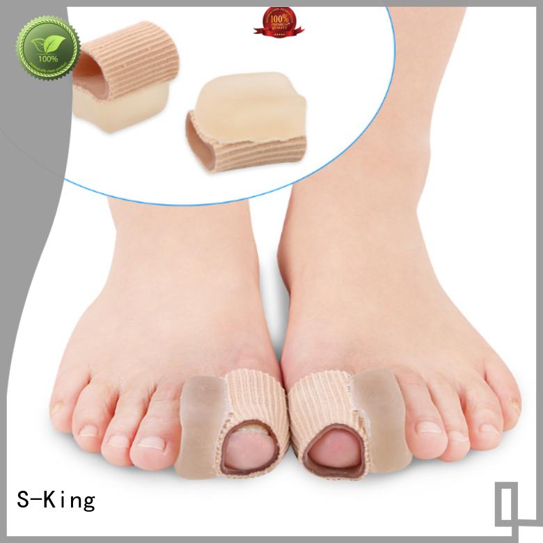 three stretcher big corn gel toe separators for bunions S-King Brand