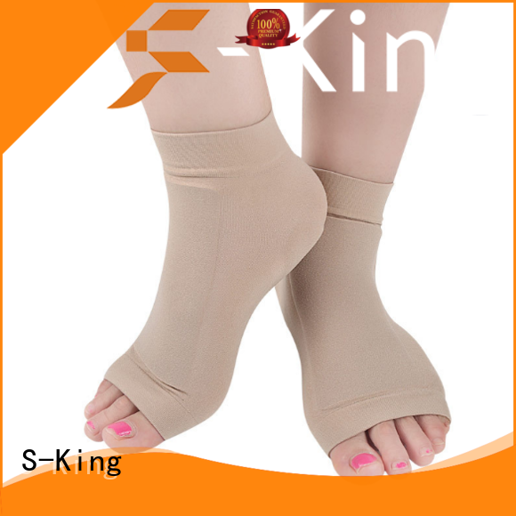 Silicone Gel Plantar Fasciitis Heel Protection Sport Arch Support Ankle Sock