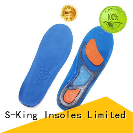 S-King stability gel insoles for trainers length for foot care