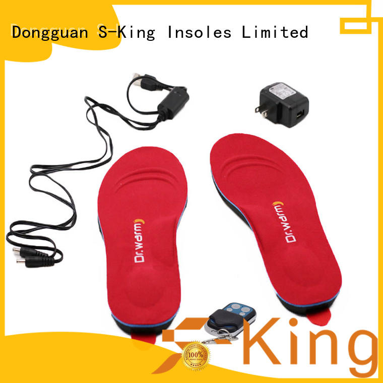 bikinggolfingsailing insoles electric heated insoles wire S-King Brand