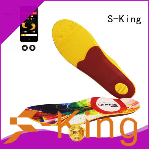 S-King rechargeable heated insoles canada for golfing