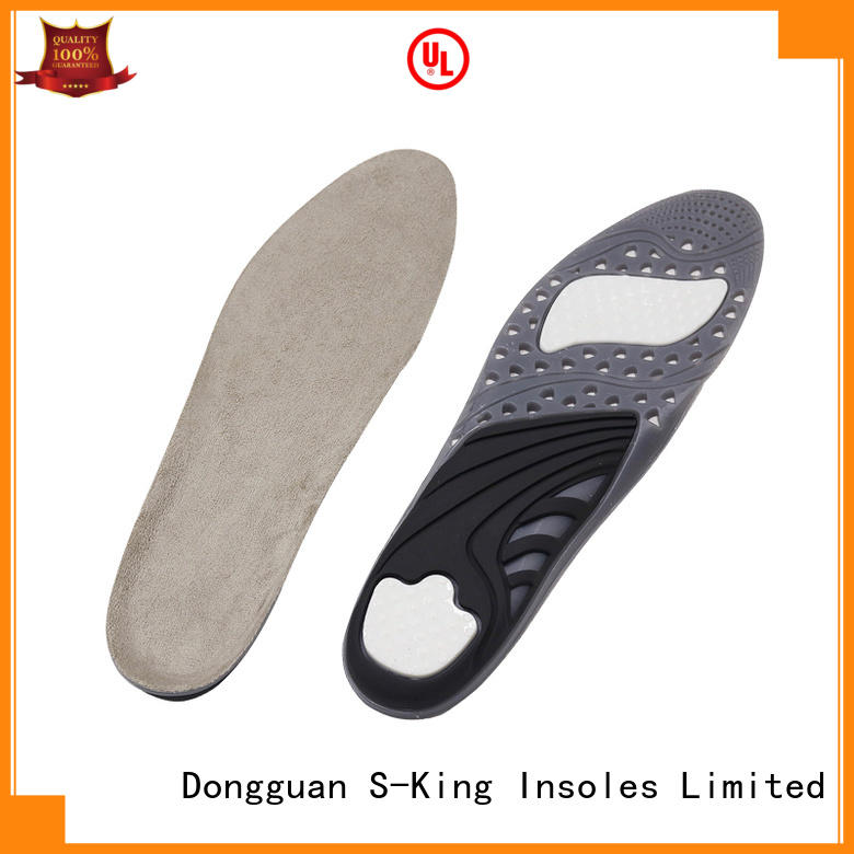 S-King gel comfort insoles company for foot care