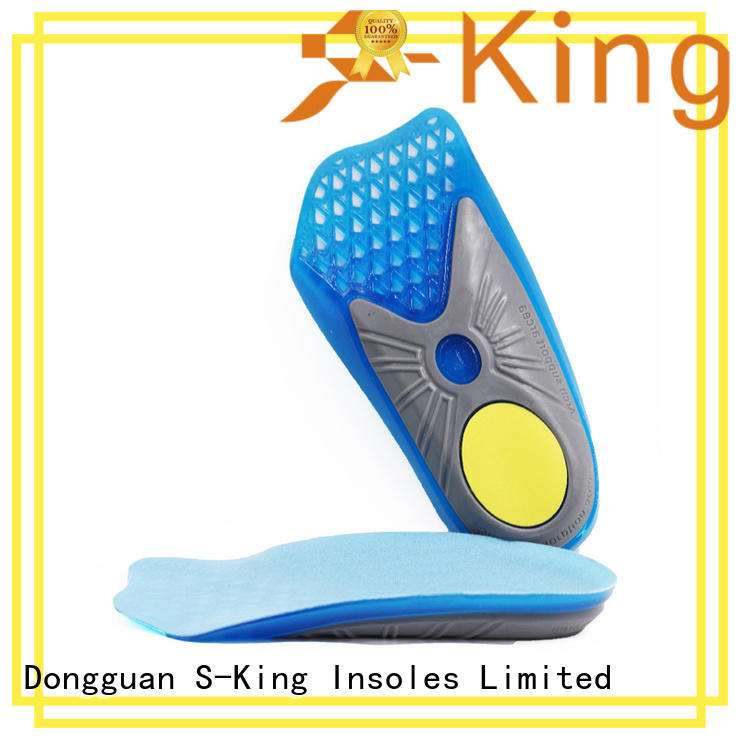 S-King inserts foot insoles with arch support for snow