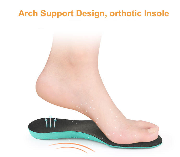 High arch support  kid orthotics insoles for Flat foot Plantar Fasciitis Bowlegs correction-3