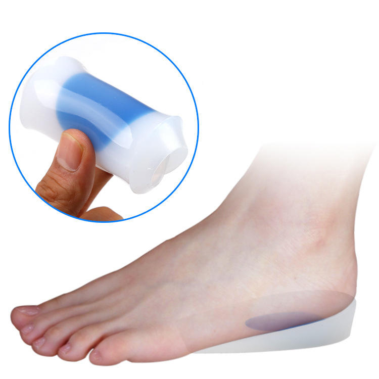 S-King-Silicone Insoles Silicone Insole Achilles Tendon Inflammation Shock Absorber