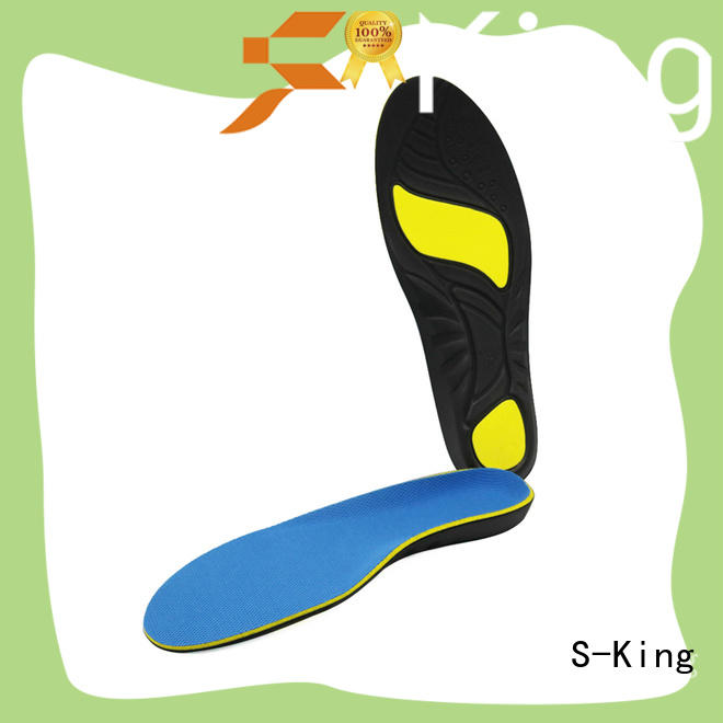 S-King orthotic insoles for flat feet for stand