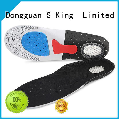 S-King Rechargeable foot insoles half length for winter