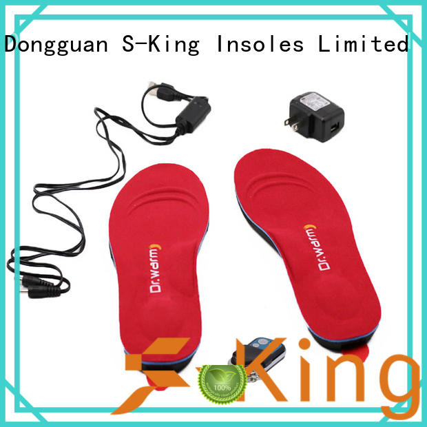 winter shoes control heated insoles S-King Brand