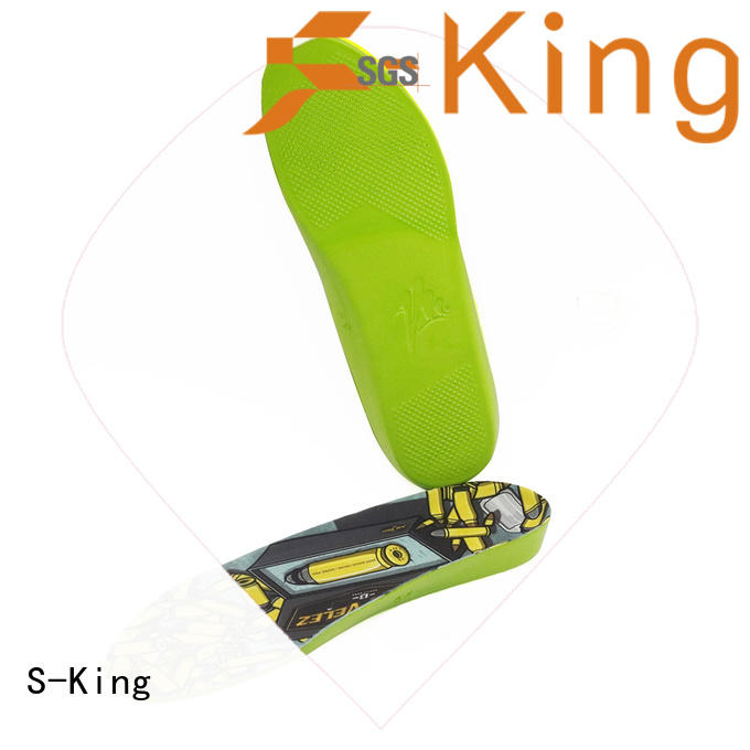 S-King hard orthotic insoles company for stand