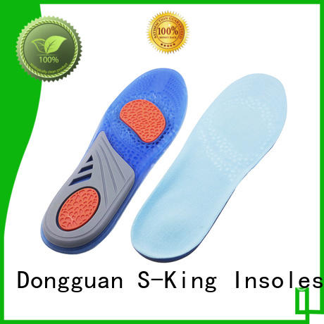 block cooling gel insoles reduce stress for foot
