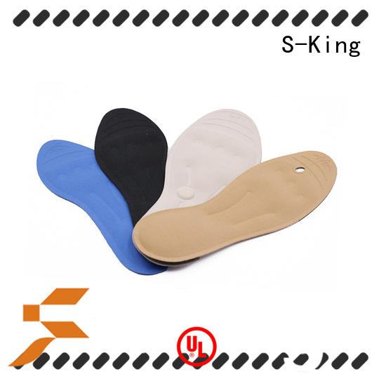 S-King Custom massaging gel insoles Suppliers for stand