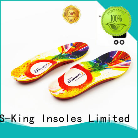 rechargeable electric S-King Brand battery heated insoles