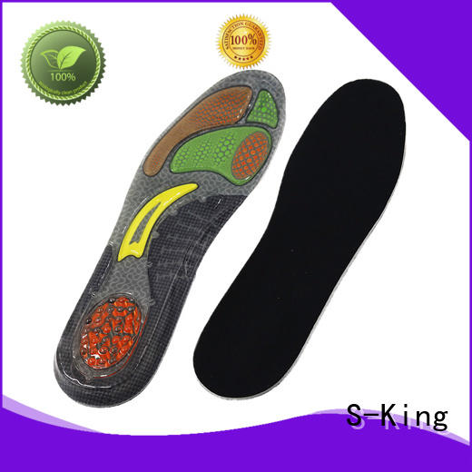 S-King gel insoles for sneakers manufacturers for forefoot pad