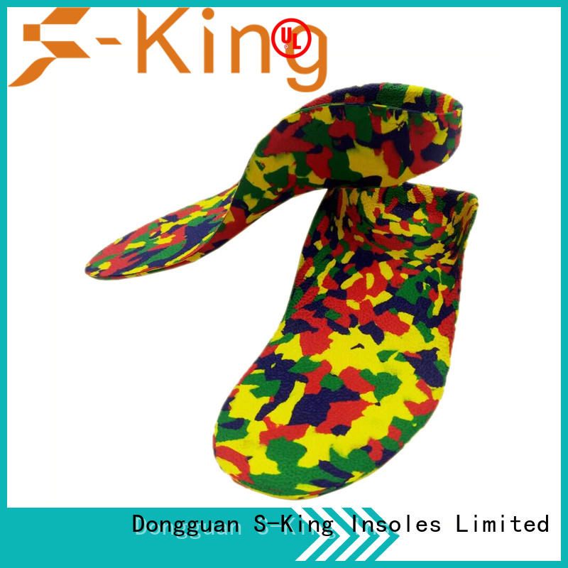 gel shoe flat foot insoles for kids for boots for children