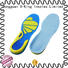 Foot balance shock absorption Antibacterial gel sports insoles