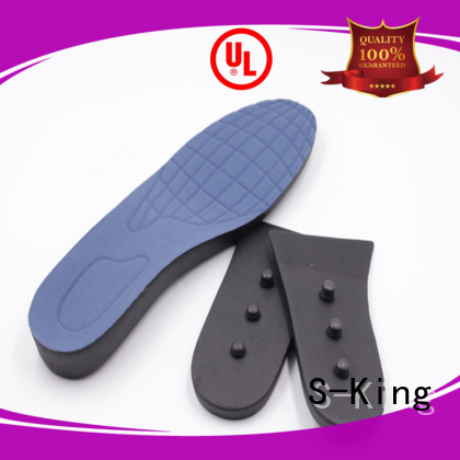 Custom lift shoe height insoles S-King shoes