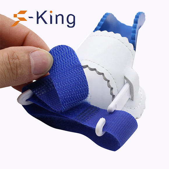 S-King-Hallux Valgus Splint, Toe Stretcher Separator Foot Pain Relief Silicone