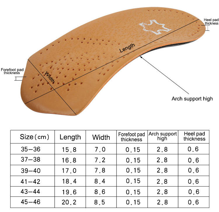 New orthotics for high arches and plantar fasciitis factory for stand-3