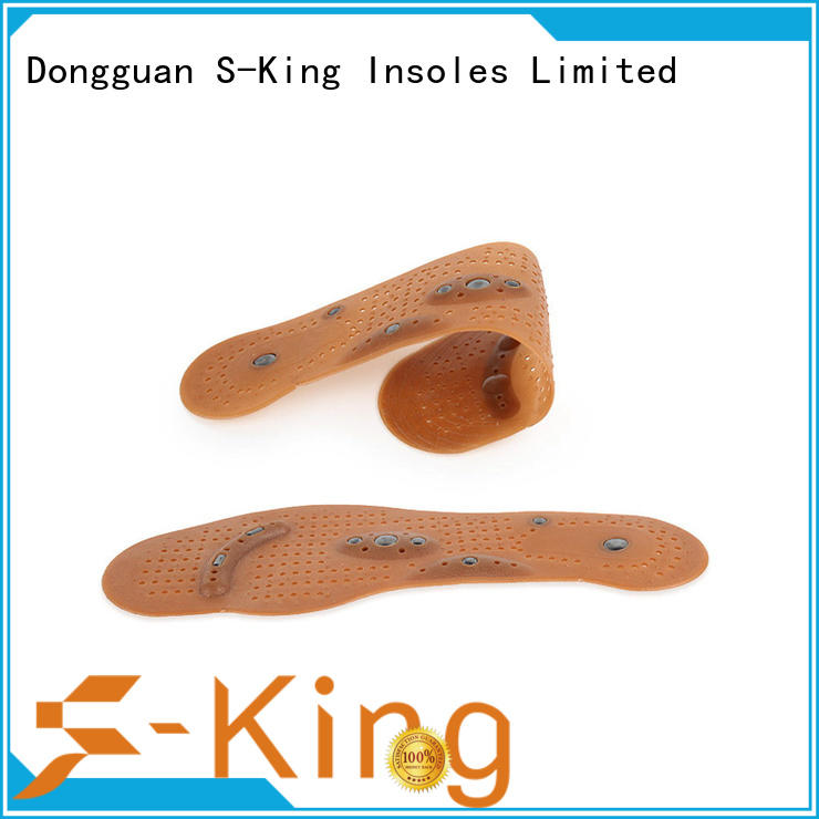 Therapeutic acupuncture Magnetic massage Shoes Insoles Free cutting Foot Pain Relief