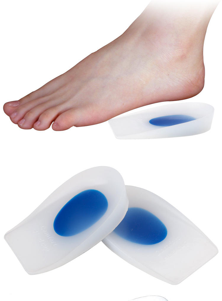 S-King-Silicone Insoles Silicone Insole Achilles Tendon Inflammation Shock Absorber-1