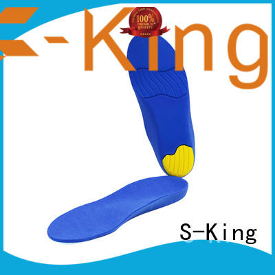care comfort insoles with arch support for skiing S-King