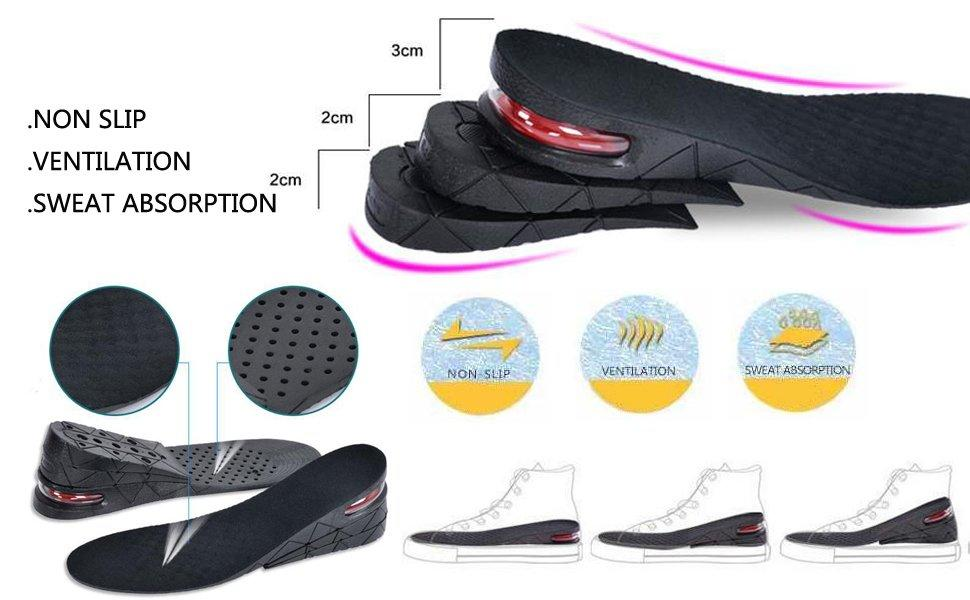 S-King-Height Boosting Insoles Manufacture | Height Boosting Insoles, Height Elevator Insole-1