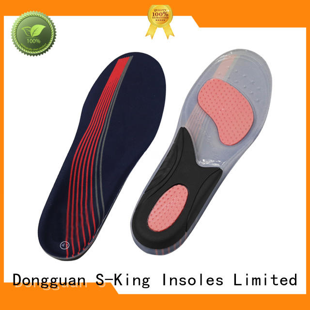 S-King gel insoles factory for forefoot pad