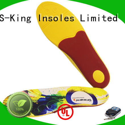 drwarm rechargeable foot warmers heated insoles wire hunting S-King