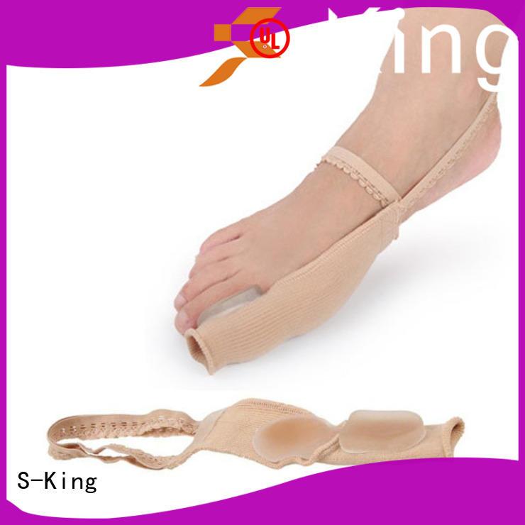 S-King good gel toe separator straightener for bunions