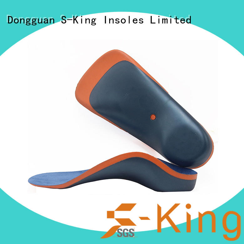High arch support  kid orthotics insoles for Flat foot Plantar Fasciitis Bowlegs correction