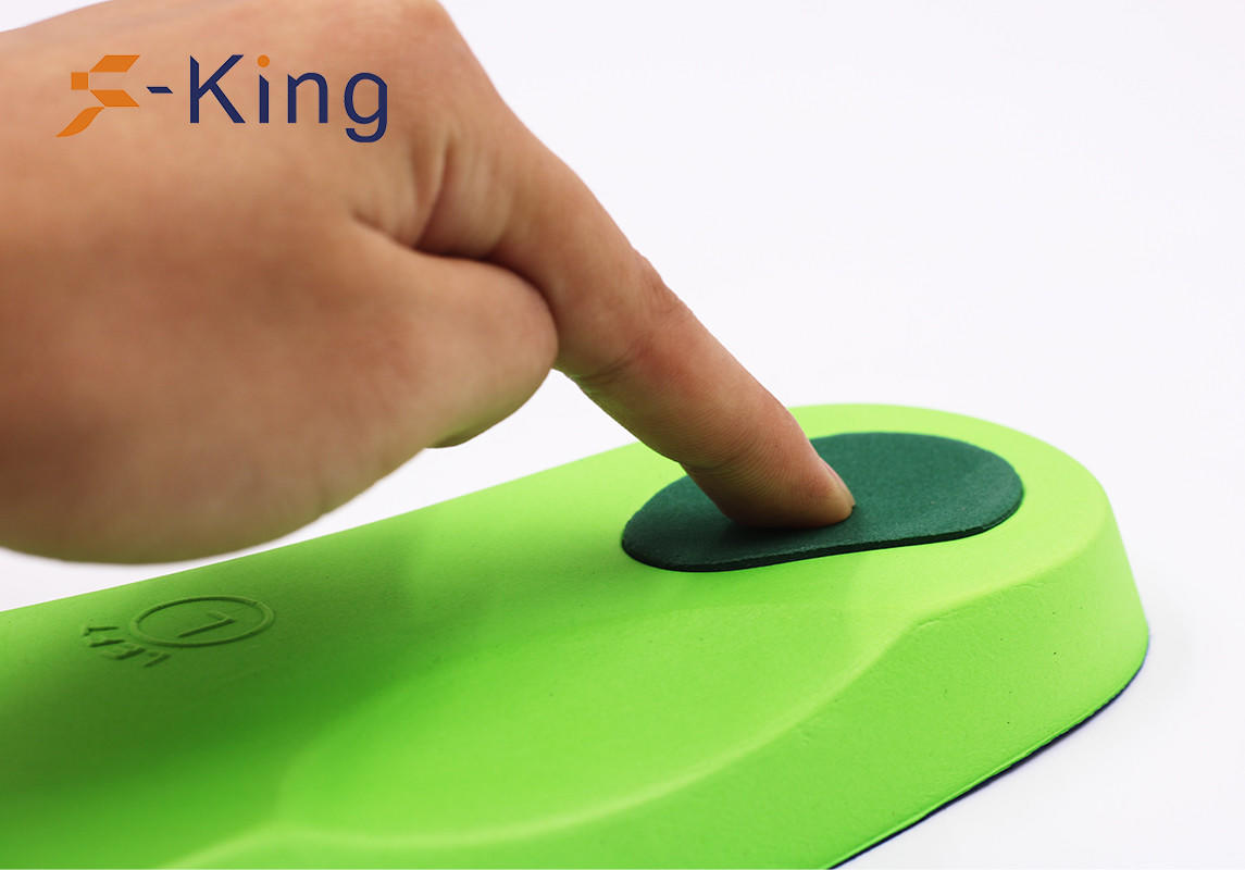 S-King-34 Eva Cushion Insole, High Arch Support Orthopedic Insole For Flat Foot