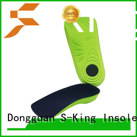 S-King full orthotic inserts for high arches high arch support for eliminate pain