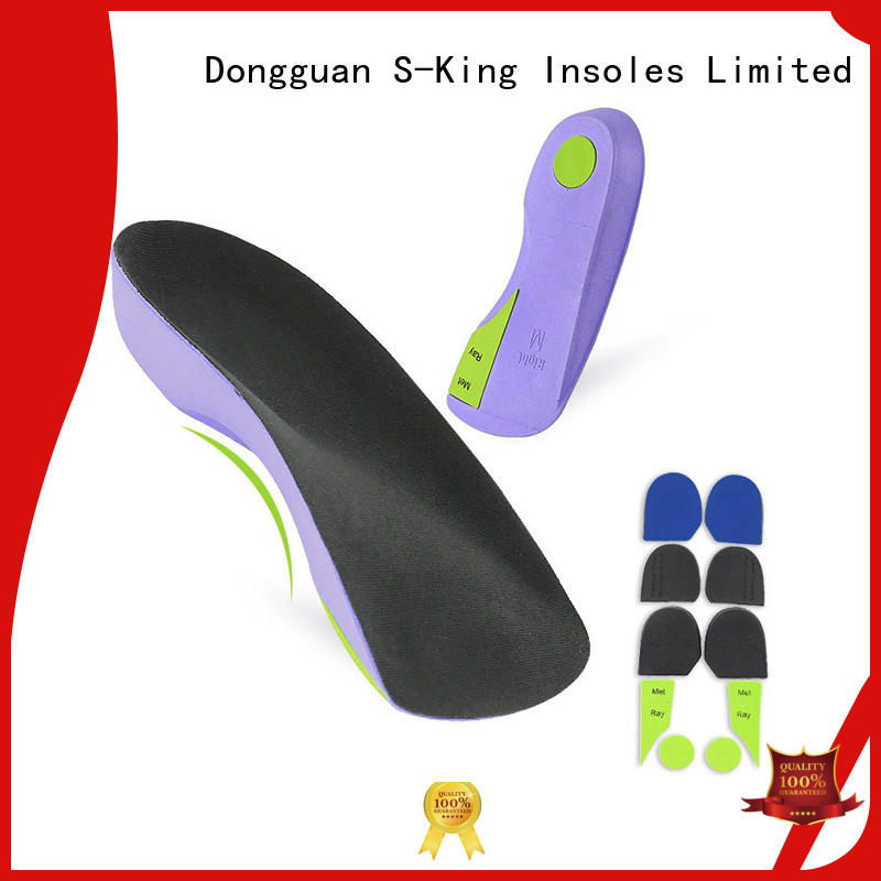 S-King best orthotics for plantar fasciitis manufacturers for walk