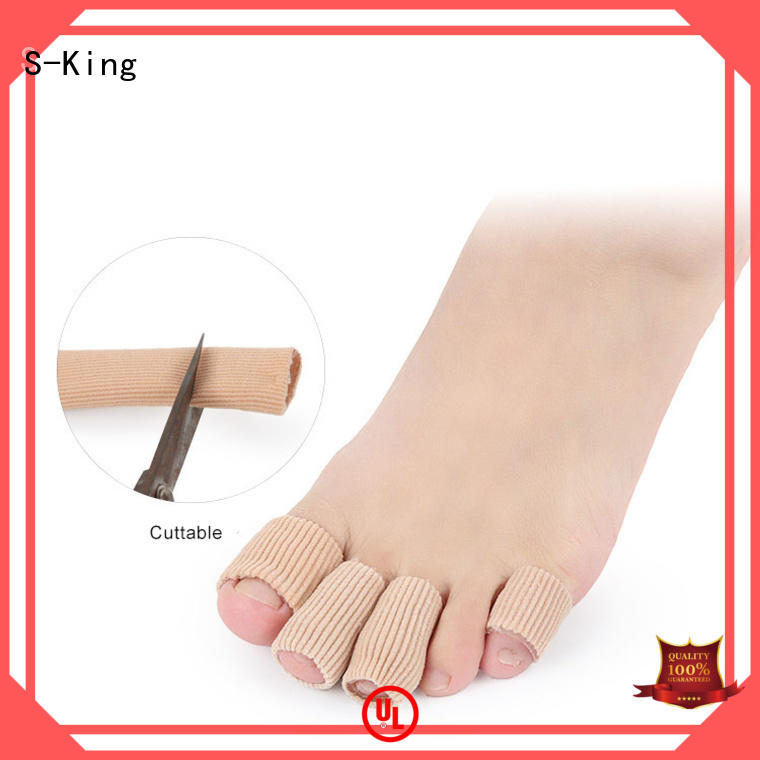 S-King comfortable bunion gel toe spreader straightener for overlapping toes
