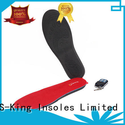 S-King Top rechargeable insoles company for biking