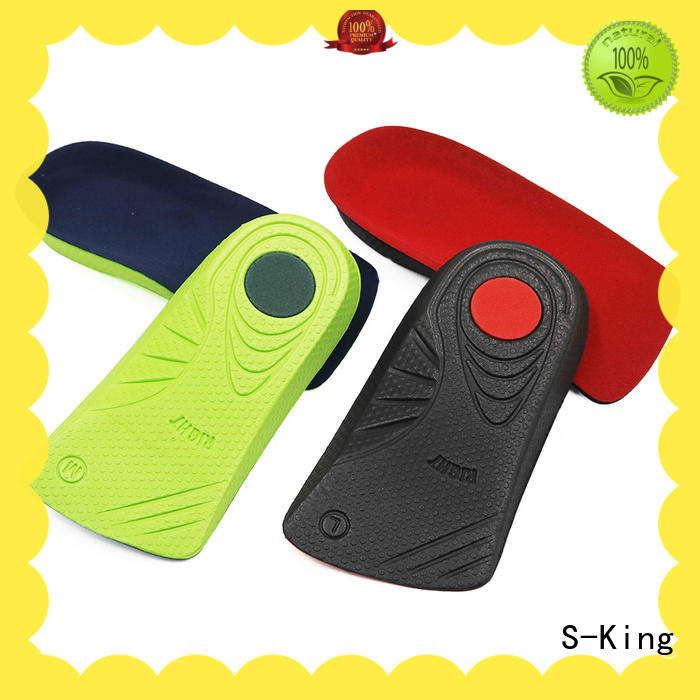 S-King Wholesale custom fit orthotic inserts company for foot accessories