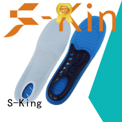 S-King arch support cooling gel insoles stretcher for foot care