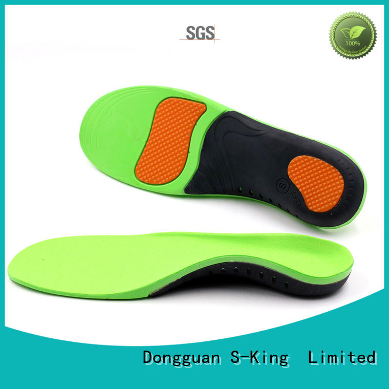 S-King daily foot insoles half length for shoes