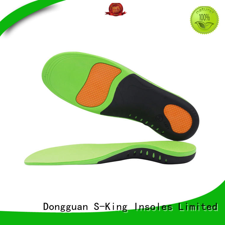 S-King orthotic inserts for high arches factory for footcare health