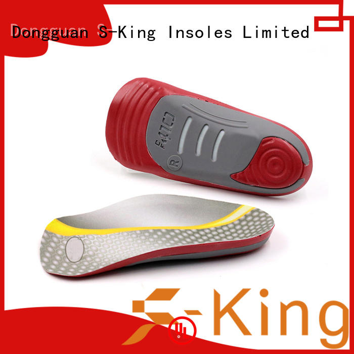 S-King best orthotics for arch support Supply for stand