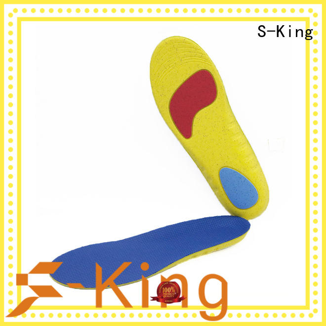 orthotics foot insoles with arch support for skiing S-King
