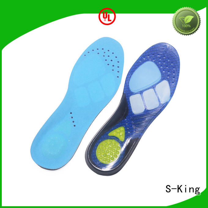 High-quality soft gel insoles for running shoes