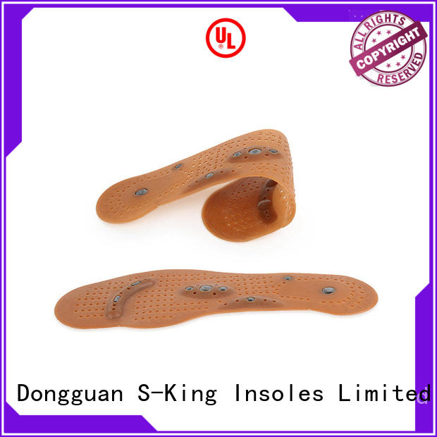 S-King Custom magnetic insoles for neuropathy for walking