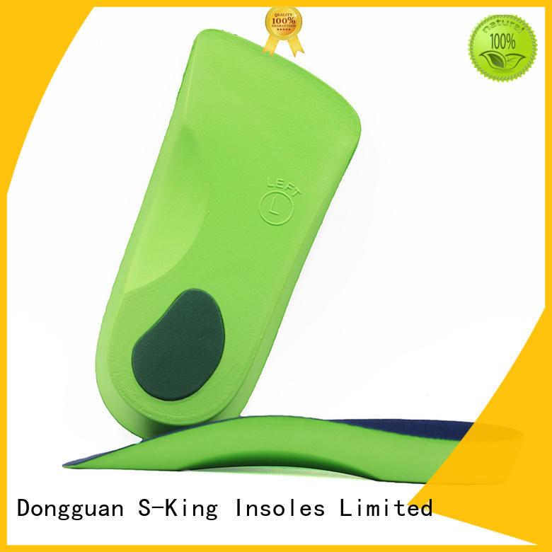 insole arch orthotic insoles foot adjustable S-King company