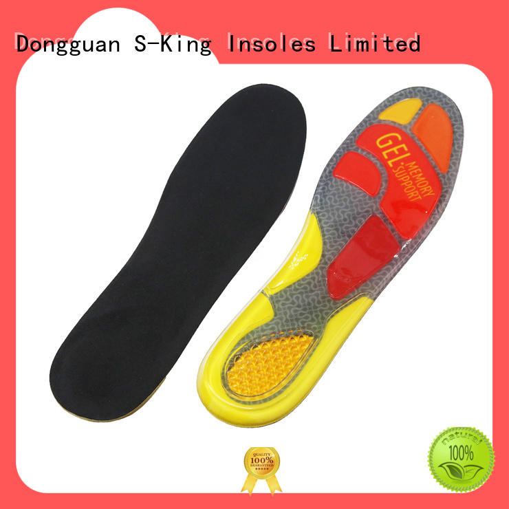 S-King High-quality ladies gel insoles factory for foot care
