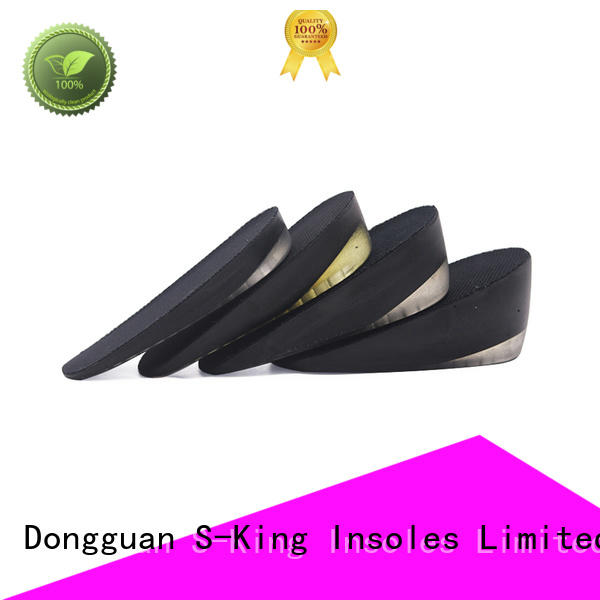 S-King High-quality height increase elevator shoes insole for men Supply
