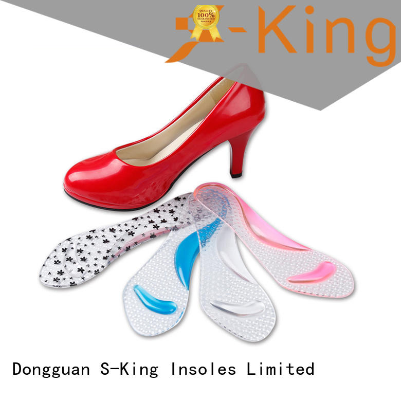 S-King Latest pu gel insoles factory for closely