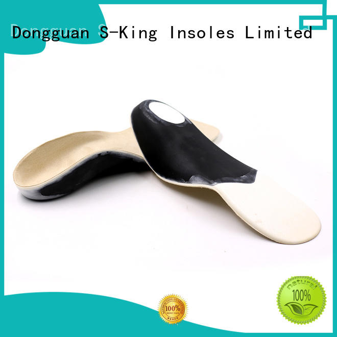 foot insoles orthotic insoles orthopedic S-King company
