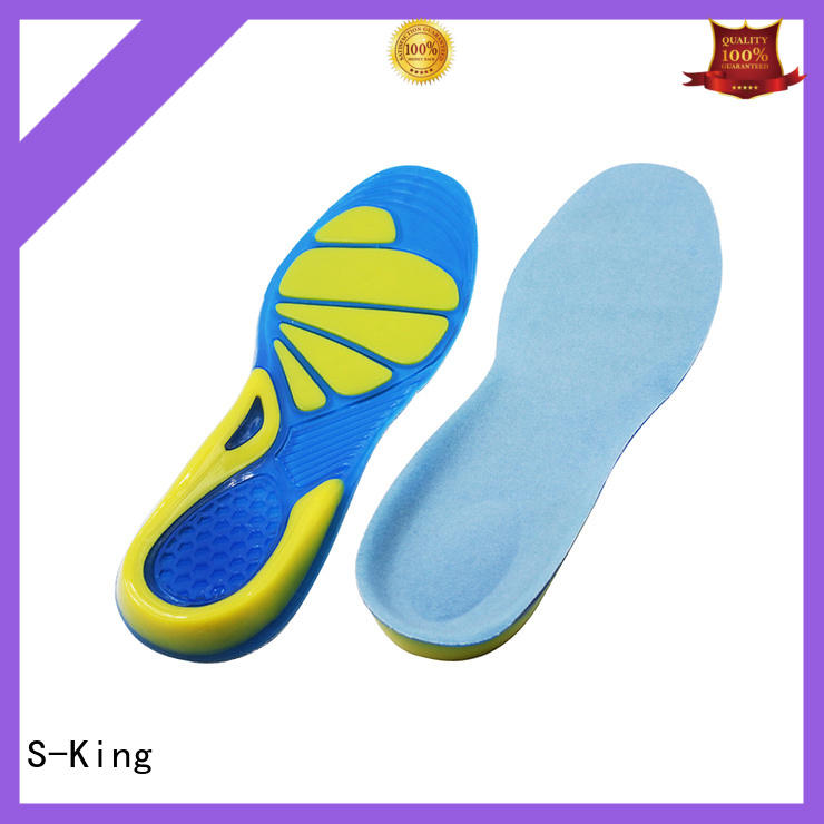 S-King gel insoles for sandals for forefoot pad
