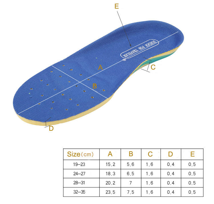 S-King Latest kid insoles Suppliers-1